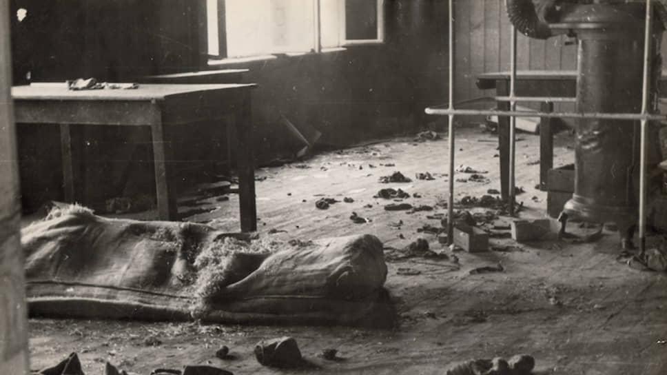 Блок 20 после массового побега