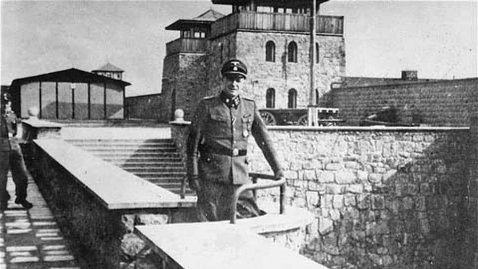 Комендант концлагеря Маутхаузен с 1939 по 1945 год штандартенфюрер СС Франц Цирайс