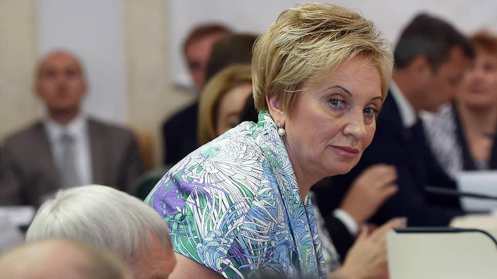 Председатель Мосгорсуда Ольга Егорова