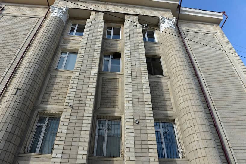 Отреставрированное здание универмага в 2020 году
