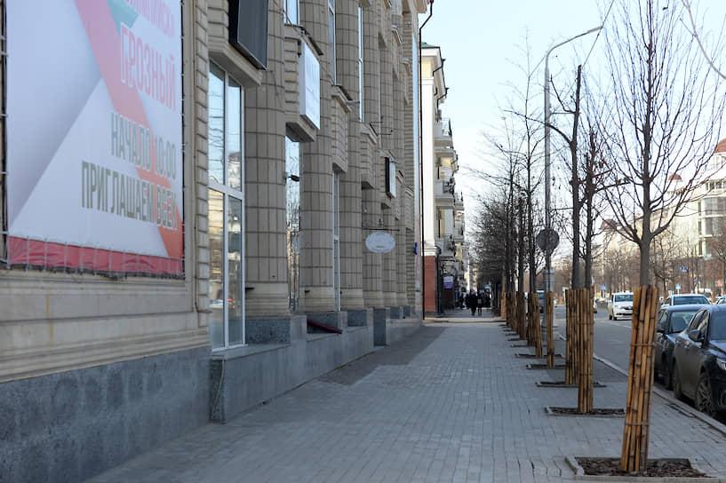 Здание ЦУМа на бывшем проспекте Победы, в 2008 году переименованном в проспект Владимира Путина
