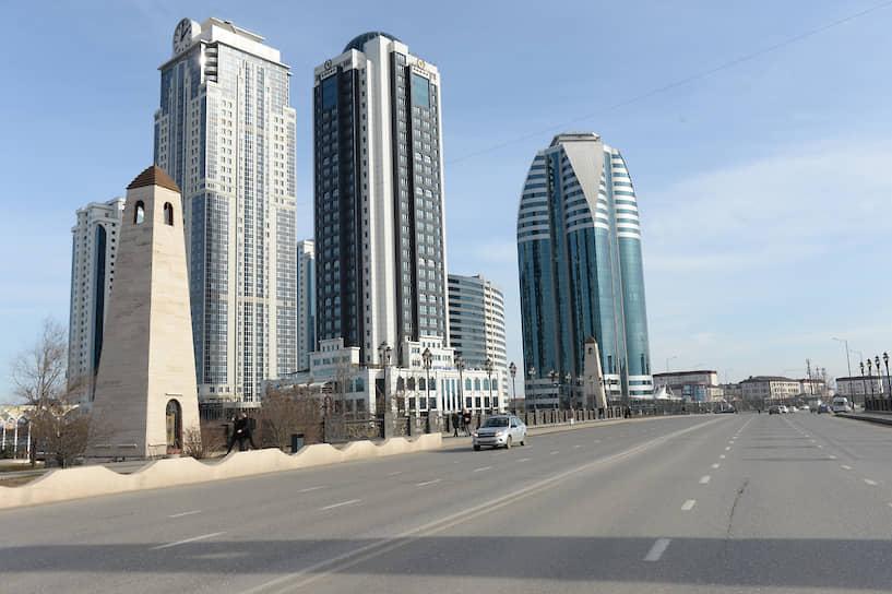 Высотный комплекс «Грозный-Сити», открытый в 2011 году