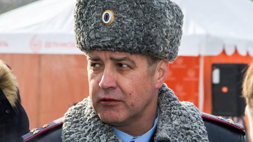 Бывший руководитель ГИБДД Новосибирской области Сергей Штельмах