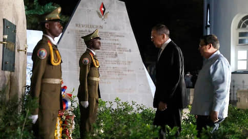 Сергей Лавров почтил память команданте Фиделя  / Глава МИД РФ возложил цветы к его могиле в городе Сантьяго-де-Куба
