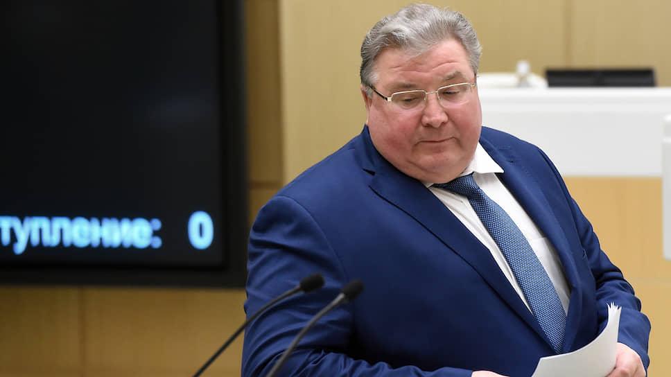 Глава Республики Мордовия Владимир Волков