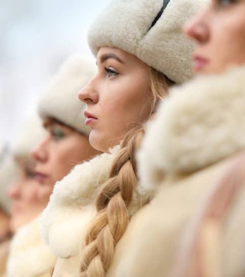 Волгоград. Праздничные мероприятия, посвященные 77-ой годовщине разгрома фашистских войск под Сталинградом на мемориале «Мамаев курган»