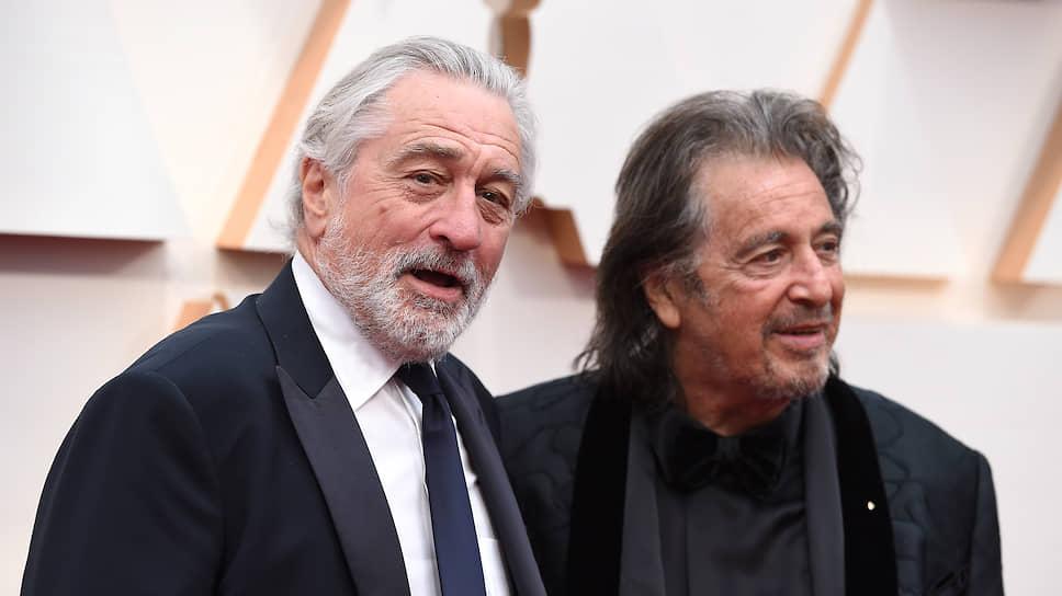 Актеры Роберт Де Ниро (слева) и Аль Пачино