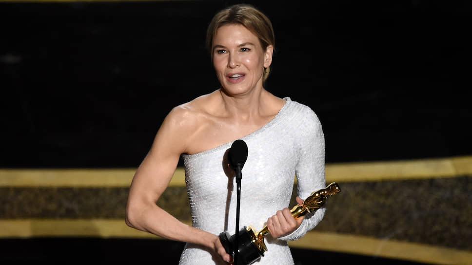 Актриса Рене Зеллвегер получила «Оскар» за лучшую женскую роль в фильме «Джуди»