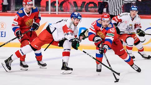 Омоложение привело к поражению  / Сборная России набрала всего одно очко на третьем этапе Евротура