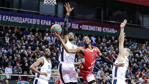 «Зенит» попал в серию  / Баскетболисты «Локомотива-Кубани» победили в восьмой раз подряд
