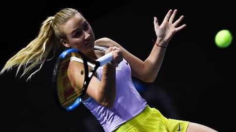 Невский аспект  / Фаворитами St. Petersburg Ladies Trophy будут зарубежные теннисистки