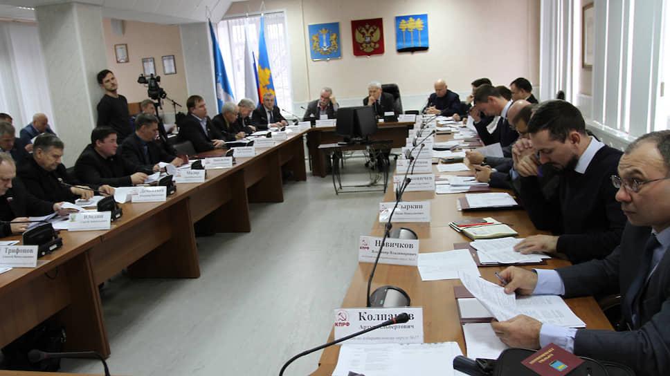 Заседание гордумы Димитровграда