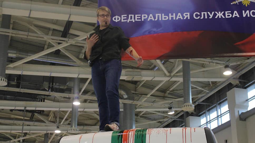 Руководитель московского отделения «Другой России» Ольга Шалина