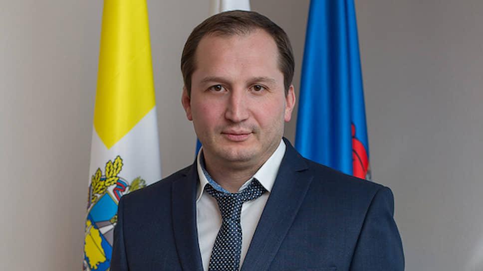 Мэр Георгиевска Максим Клетин