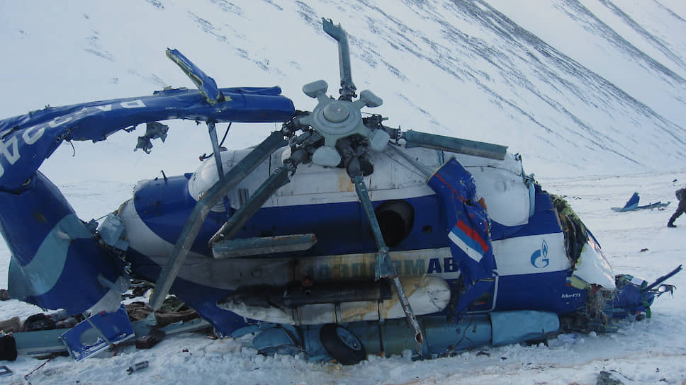 Вертолет Ми-171, разбившийся в горах Алтая. В авиакатастрофе погибли семь высокопоставленных охотников, в том числе полпред президента в Госдуме РФ Александр Косопкин