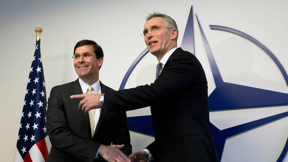 """Глава Пентагона Марк Эспер порадовал генсека НАТО Йенса Столтенберга и всех коллег по альянсу сообщением о том, что «США и """"Талибан"""" договорились о снижении насилия на семь дней»"""
