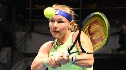 Первая двукратная  / Голландская теннисистка Кики Бертенс победила в Санкт-Петербурге