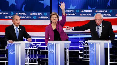 Миллиардер на растерзание // Демократы устроили Майклу Блумбергу разнос на дебатах