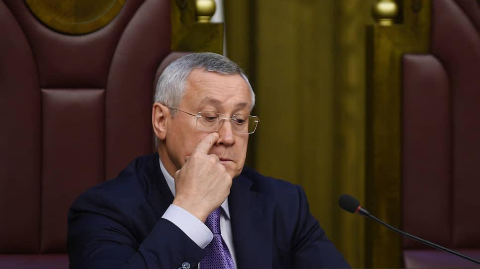 Заместитель генерального прокурора России Леонид Коржинек