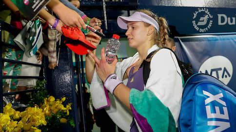 Cерийная финалистка  / Теннисистка Елена Рыбакина сыграла четыре финала WTA Tour за семь недель