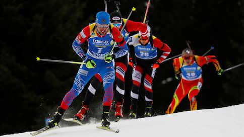 Российские биатлонисты выступили в одиночном разряде  / Все значимые события чемпионата мира, касающиеся сборной, связаны с Александром Логиновым