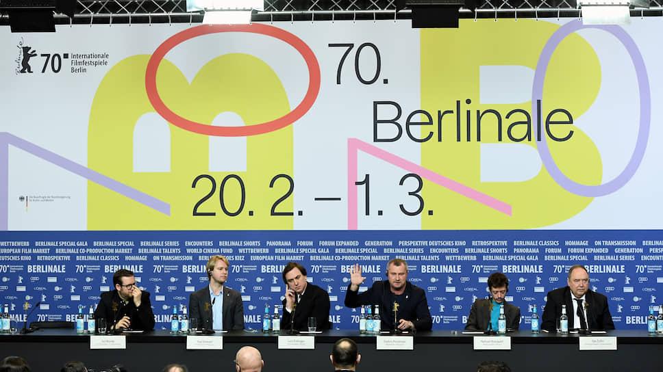 Пресс-конференция создателей фильма «Уроки фарси» в Берлине