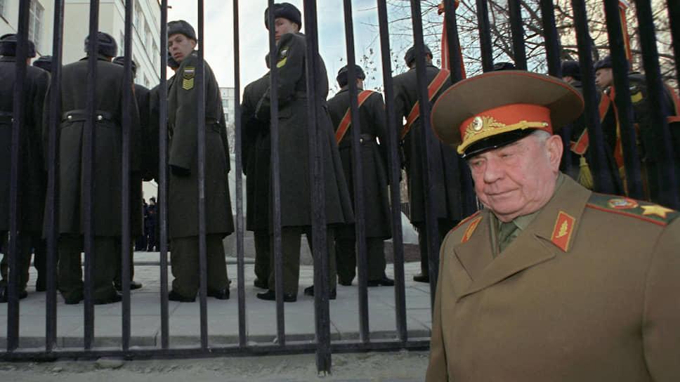 Бывший министр обороны СССР, маршал Советского Союза Дмитрий Язов