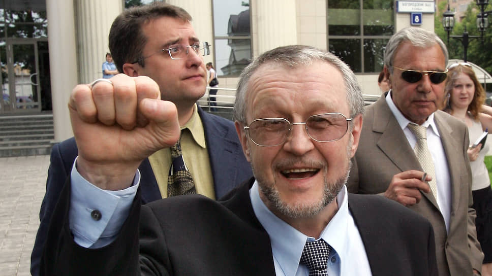 Криминальный авторитет Вячеслав Иваньков, известный как «Япончик»