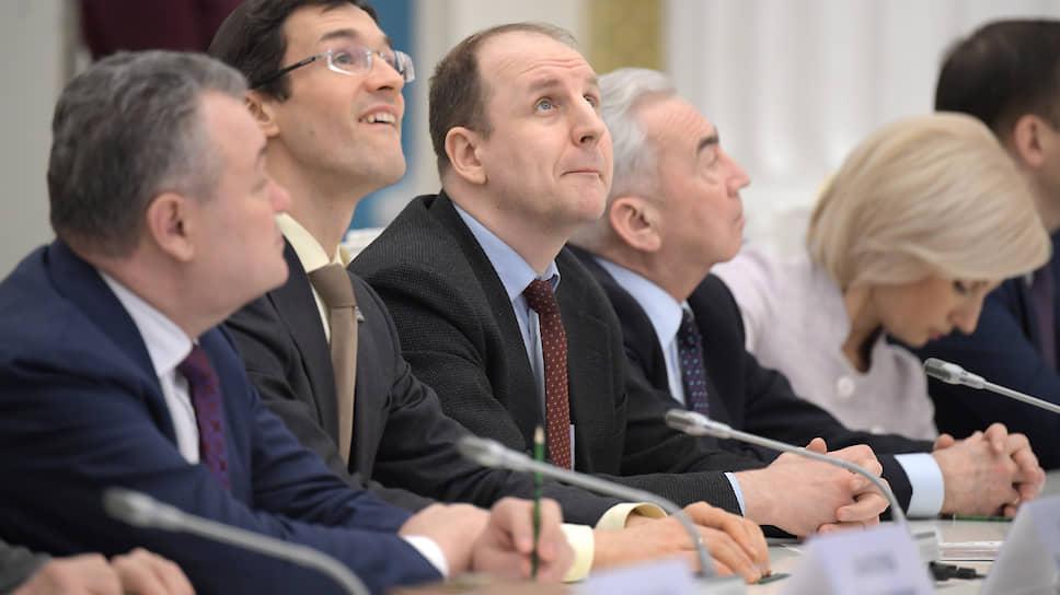 Заседание рабочей группы по внесению поправок в Конституцию