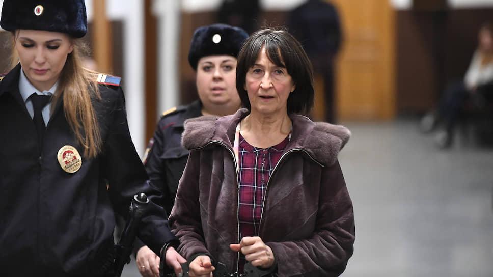 Бывший вице-президент Национального торгового банка (НТБ) Валентина Корытина