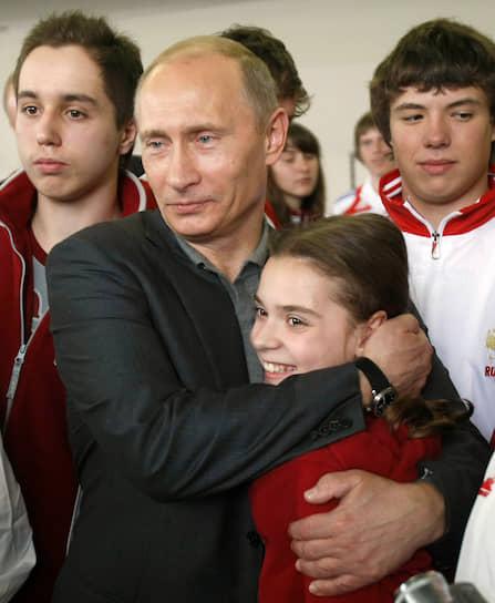 """«Я представилась. Владимир Владимирович сказал: """"Значит, наша надежда на Сочи"""". Я ответила: """"Ну да, я будущая чемпионка""""» <br> В 2009 году на встрече чемпионов спартакиады с премьер-министром России Владимиром Путиным, юная спортсменка пообещала ему выиграть Олимпиаду в Сочи"""