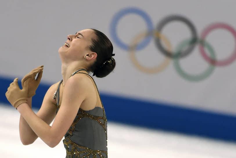 «Когда вышла на лед, поняла, что обожаю кататься, не могу без этого жить. И я доказала это» <br> В произвольной программе фигуристка взяла золото, выиграв Олимпиаду