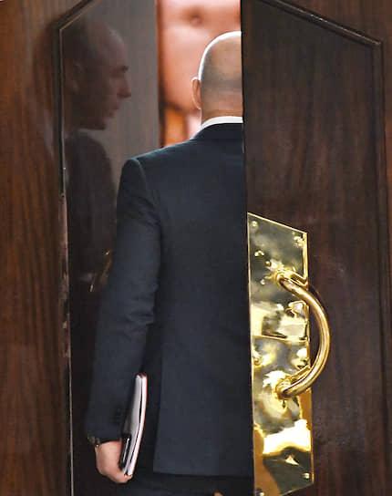 Москва, Россия. Министр финансов России Антон Силуанов во время заседания Госдумы
