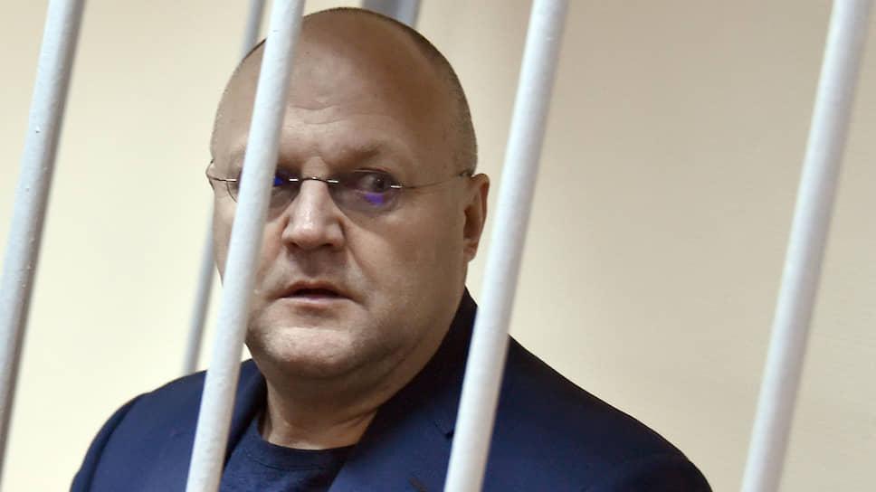 Бывший глава СКР по Москве Александр Дрыманов