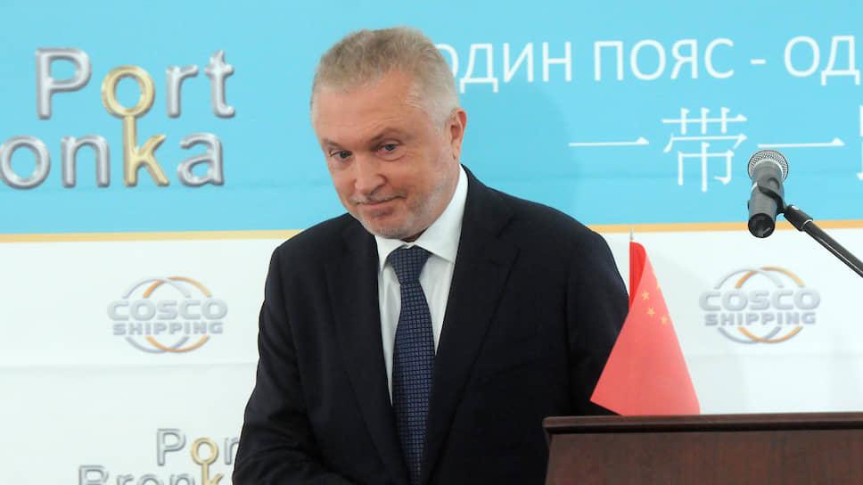 Глава Росморречфлота Александр Пошивай