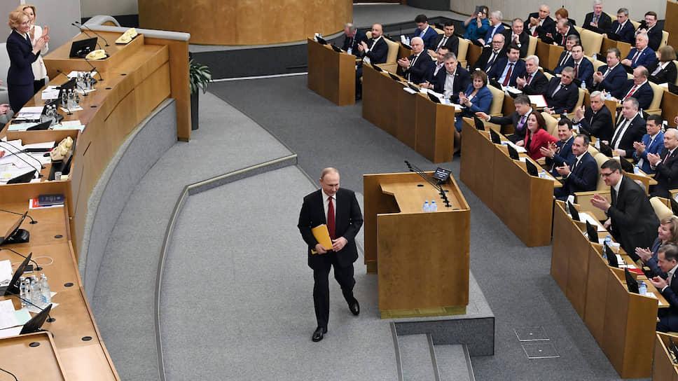 Как Владимир Путин отклонил идею переноса выборов Госдумы