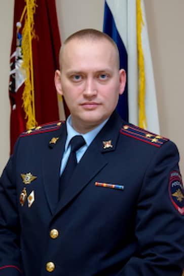 Заместитель начальника УМВД по Северо-Западному округу—начальник полиции полковник Алексей Кориненко