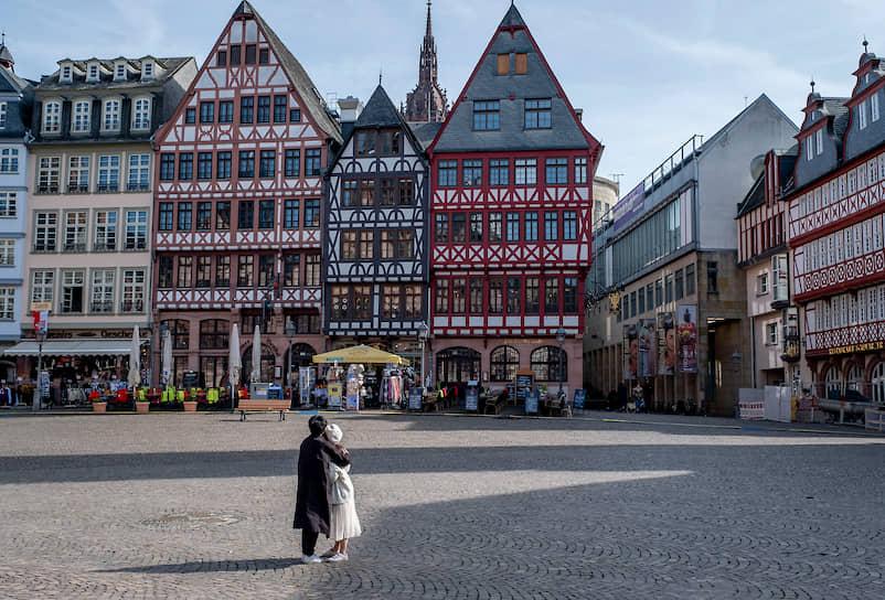 Площадь Ремерберг. Франкфурт-на-Майне, Германия