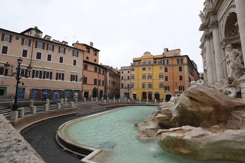 Фонтан Треви. Рим, Италия