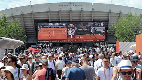 Санкт-Петербург подвинули Парижем  / Начало Открытого чемпионата Франции по теннису перенесено с мая на сентябрь