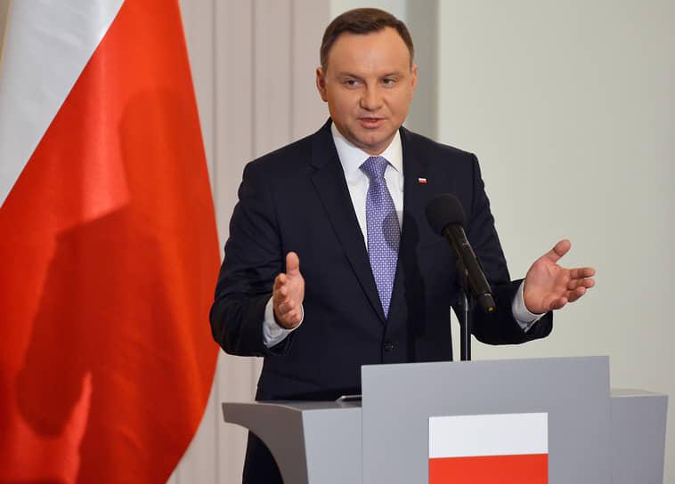 23 октября у президента Польши Анджея Дуды была диагностирована коронавирусная инфекция, сообщил пресс-секретарь главы государства Блажей Спихальский