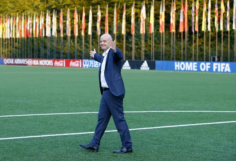 27 октября пресс-служба Международной федерации футбола (FIFA) сообщила, что ее президент Джанни Инфантино сдал положительный тест на коронавирус
