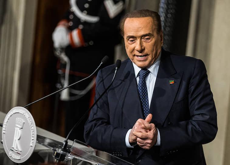 2 сентября стало известно, что экс-премьер Италии Сильвио Берлускони заразился коронавирусом