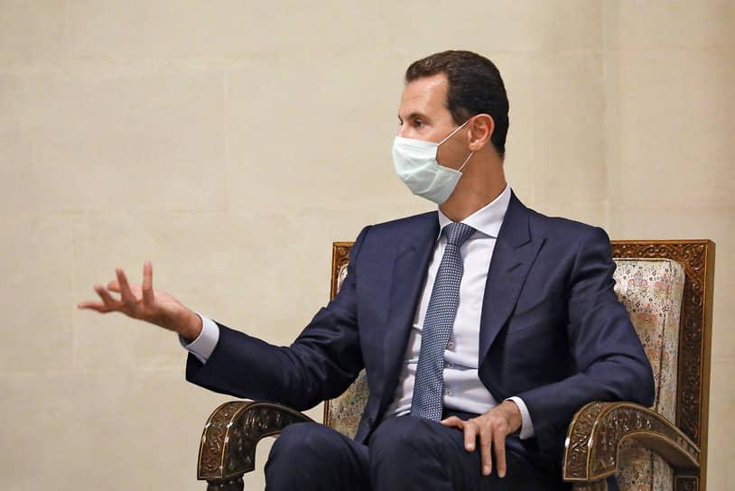 8 марта 2021 года стало известно, что президент Сирии Башар Асад и его супруга заразились коронавирусом. Они чувствуют себя хорошо и ушли на самоизоляцию, сообщили в Дамаске