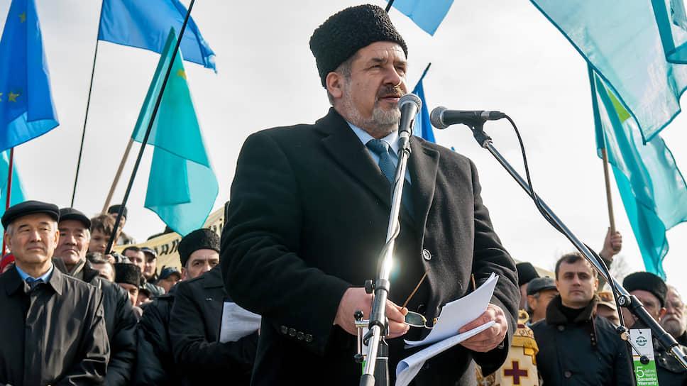 Глава «Меджлиса крымско-татарского народа» Рефат Чубаров