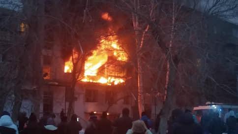 В Магнитогорске произошел взрыв в жилом доме // Погибли два человека