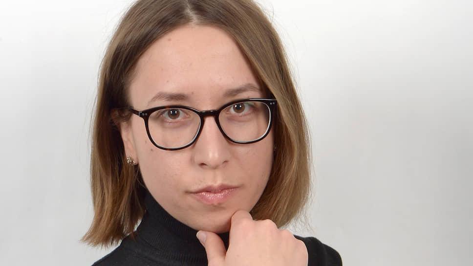 "Спецкор отдела бизнеса ""Ъ"" Полина Смертина"