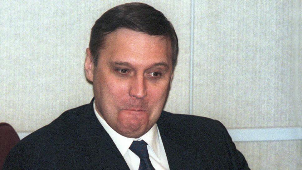 Председатель правительства Михаил Касьянов на очередном заседании Госдумы