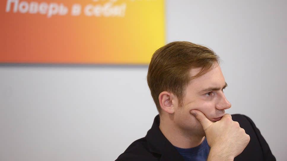 Лидер фракции «Яблоко» в Мосгордуме Максим Круглов