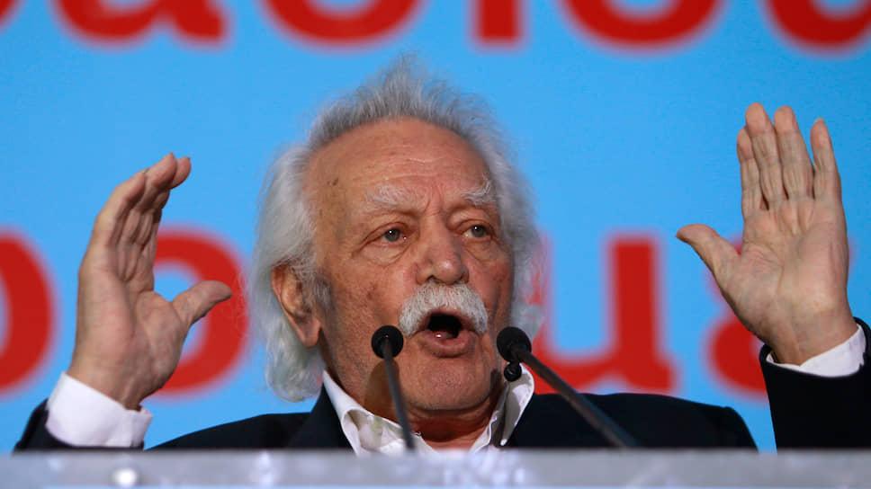 «Первый партизан Второй мировой войны» устал сопротивляться  / Умер национальный герой Греции Манолис Глезос